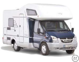 Hymer 542 RV Motorhome Rental in Greece, Athens and Crete
