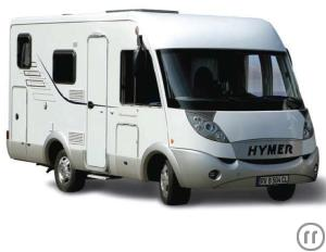 Hymer 544 RV Motorhome Rental in Greece, Athens and Crete