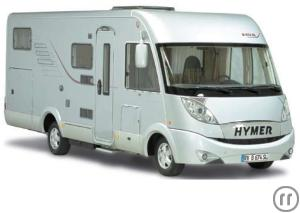 Hymer 574 RV Motorhome Rental in Greece, Athens and Crete