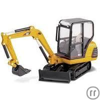 Minibagger CAT 302.5c 2,9to 25,3PS 2,93m