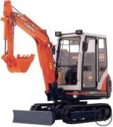Minibagger Kubota KX61 2,6to 24,8PS 2,5m