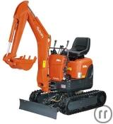 Minibagger Kubota U10 1,1to 10,2PS 1,8m