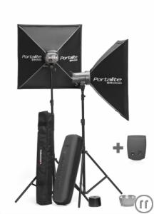 Elinchrom Blitzanlage D-Lite 2/4 it To Go Kit