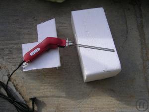 styroporschneider mieten hei er draht schneidewerkzeug bei rentinorio. Black Bedroom Furniture Sets. Home Design Ideas