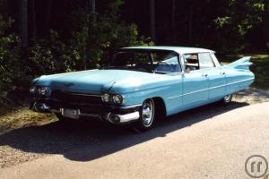Cadillac Four Window Flat Top 1959