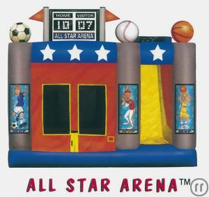 "Hüpfburg ""All-Star-Arena"""