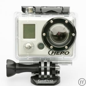 GoPro HD HERO (All Inclusive Paket), Full-HD Weitwinkelkamera, Effektkamera