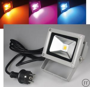 Paar RGB LED Outdoor 10 Watt