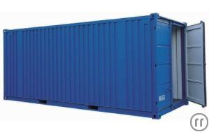 See-Lagercontainer 20 Fuss von Containex