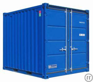Materialcontainer / Lagercontainer 10 ft