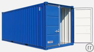 Materialcontainer / Lagercontainer 20 ft