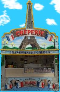 Verkaufsanhänger Creperie - Crepeswagen - Crepesstand - Crepes - Crepe