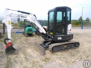 Minibagger Bobcat E26 2,7 to.