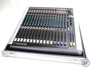 Mixer Soundcraft 12 Mic+4 Stereo