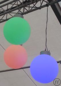 LED Ball 50cm, 3Watt LED / DMX
