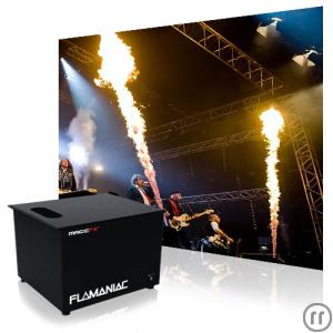 Flammeneffekt Magic FX Flamaniac Stage Flame Pyrotechnik