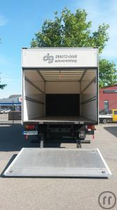 Iveco EuroCargo Koffer oder Pritsche mit Hebebühne 7,5 t € 179,00/Tag inkl. 100 km (Mo.-Do.)