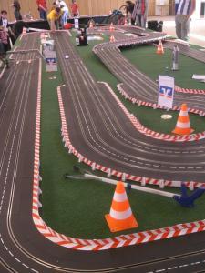 Carrera Rennbahn 4 Spurig 42 Meter
