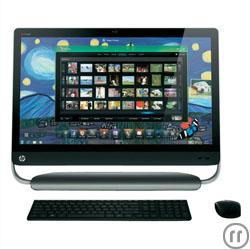 PC Touchscreen ALL-IN-ONE Intel Core i7 und 8 GB RAW Windows 7 mit 27