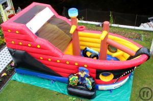 "professionelles Multiplay (Hüpfburg) ""PIRATENSCHIFF"" 7m x 4m x 4,5m - ***ALL INCLUSIVE ***"