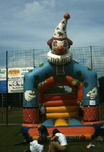 Hüpfburg CLOWN