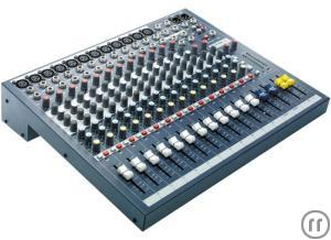 Soundcraft 12 Kanal-Mixer EPM 12
