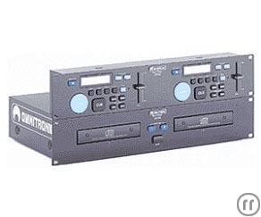 Professioneller Doppel-CD-Player