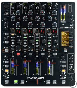 Allen & Heath Xone:DB4 Digitaler Clubmixer