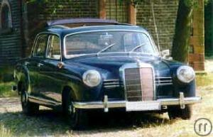 1-Mercedes Benz 180 Bj. 1958
