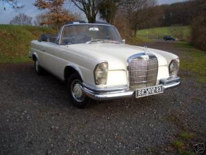 Mercedes Benz 220 Cabrio Bj. 1965