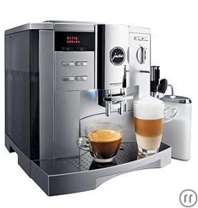 Kaffeemaschine Vollautomat Jura Impressa S9 Avantgarde Platin