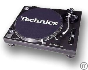 DJ TURNTABLE - TECHNICS SL 1210 MKII IM CASE