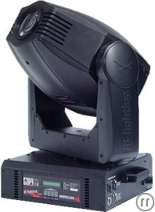 JB Lighting Varyscan P6 Moving-Head 575 Watt