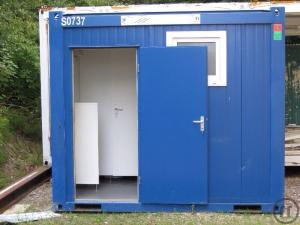 Sanitärcontainer WC-Container Dusche