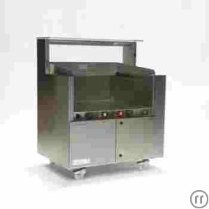 Frontcooking-Center,Rieber ACS 1000 mit Randabsaugung