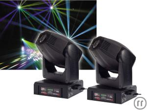 MOVING HEAD - 2X JB VS P6 - 575HMI SPOT + CASE