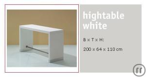 Higthtable white