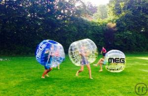 1-Bubble Fußball, Zorb Soccer, Bubble Footbal, Loopy Ball, Bumpers Bälle, mieten Kempten...