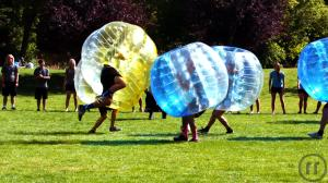 3-Bubble Fußball, Zorb Soccer, Bubble Footbal, Loopy Ball, Bumpers Bälle, mieten Kempten...