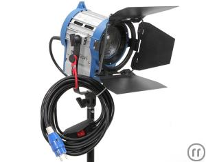 Cinelight Junior Fresnel 1000 Watt/Stufenlinse, Scheinwerfer