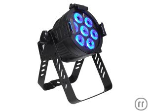 Litecraft AT10 LED Mini PAR, LED Scheinwerfer, schwarz, 15°, 7x3W
