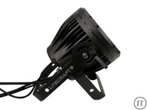 3-Litecraft AT10 OutLED Outdoor PAR, LED Scheinwerfer, schwarz, 25°, RGBA, 18x10W 4in1,LED, IP65