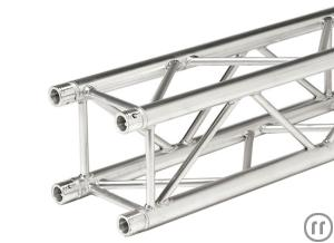 Eurotruss FD34 Traverse, 1.0m, Gurtrohr 50x2mm, 29cm, Global Truss F34 / Sweettruss KV4/290 kompat.,