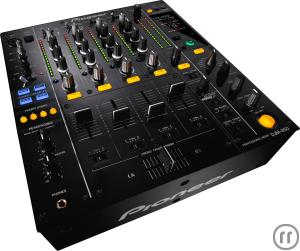 3-Pioneer DJM 850, Tonmischpult, 4-Kanal High-End Digitalmixer (Schwarz)