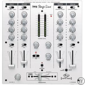 1-Stage Line MPX 460, 4 Kanal Mixer, XLR out
