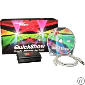 Pangolin Quickshow inkl. FB3 Interface - Lasersoftware