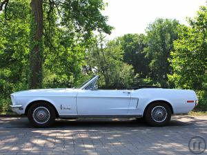 2-Ford Mustang V8 1968 Cabrio - Oldtimer - Muscle Car