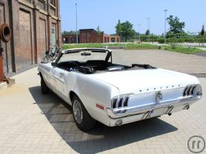 3-Ford Mustang V8 1968 Cabrio - Oldtimer - Muscle Car