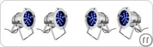 3-Ambiente Beleuchtung - LED UV Lights - Movinglights