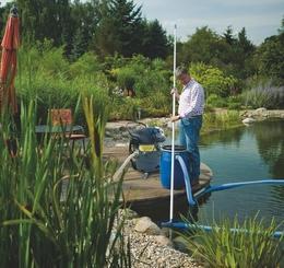 Schlammsauger for Fische fur kleinen gartenteich